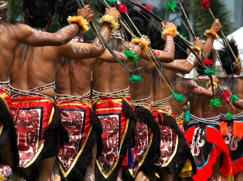 Animism and indigenous beliefs in Indonesia.