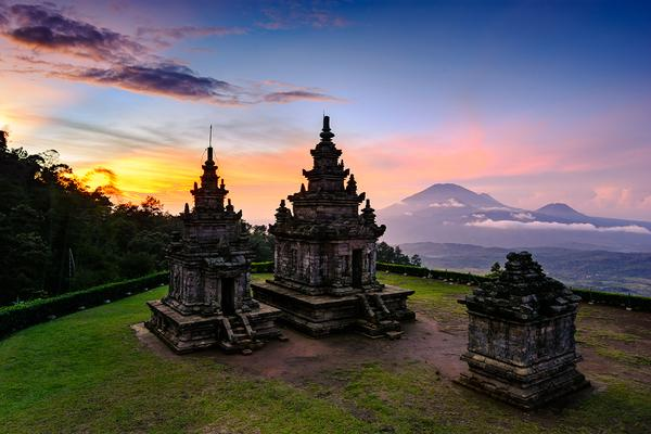 Indonesia's Buddhist and Hindu heritage
