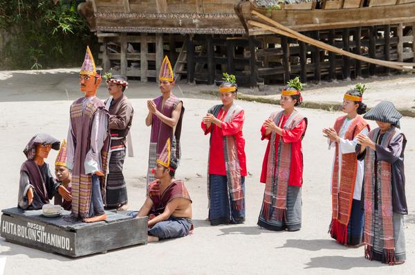 Batak de l'île Samosir, Sumatra, photo © Lenisecalleja Photography via Shutterstock