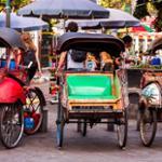 Becak à Yogyakarta photo © Kasia Soszka via Shutterstock
